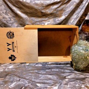 """Wooden """"Air Canada"""" Storage Crate"""
